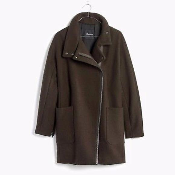 Madewell Jackets & Blazers - NWT Madewell City Grid Coat